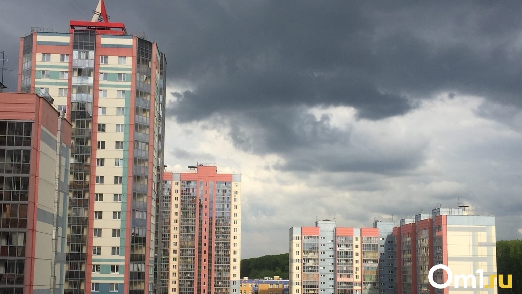 На Новосибирск надвигается дождь с грозой