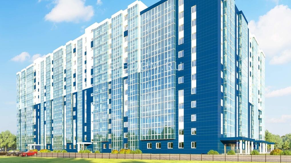 Строительный скандал: в Новосибирске возводят многоэтажку, опасную для авиасообщений