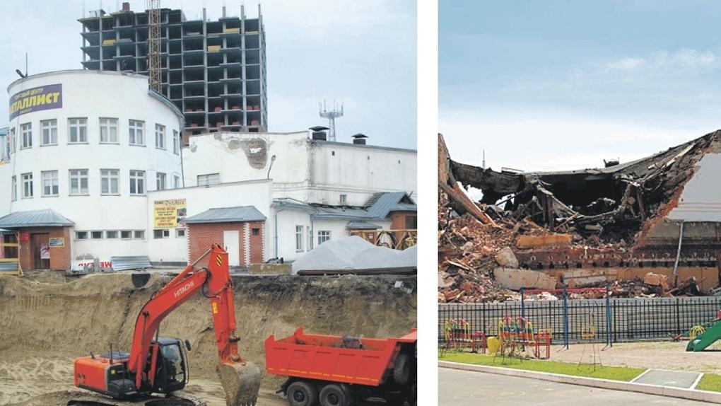 Спасите историю: новосибирский застройщик наполовину разрушил довоенный кинотеатр. Расследование Om1.ru