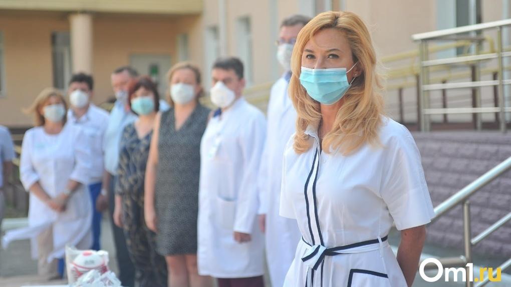 Бывшая глава омского Минздрава Ирина Солдатова покинула свою квартиру в Дубае