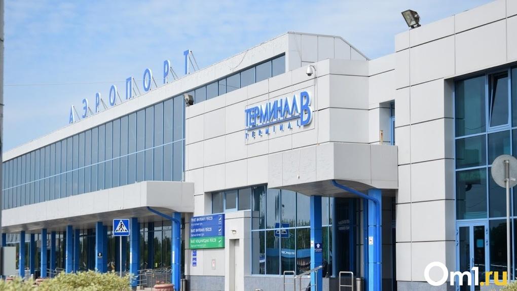 С приходом пандемии пассажиропоток в аэропорту Омска упал в шесть раз