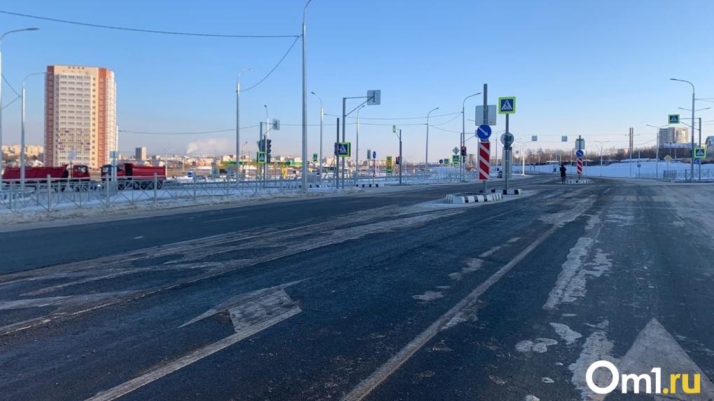 Сразу 10 новых объектов городской дорожной инфраструктуры обустроят в Омске в 2021 году