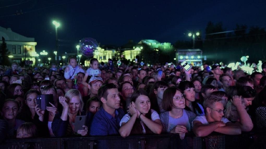 На главных площадках Дня города в Омске побывало более 174 тысяч человек