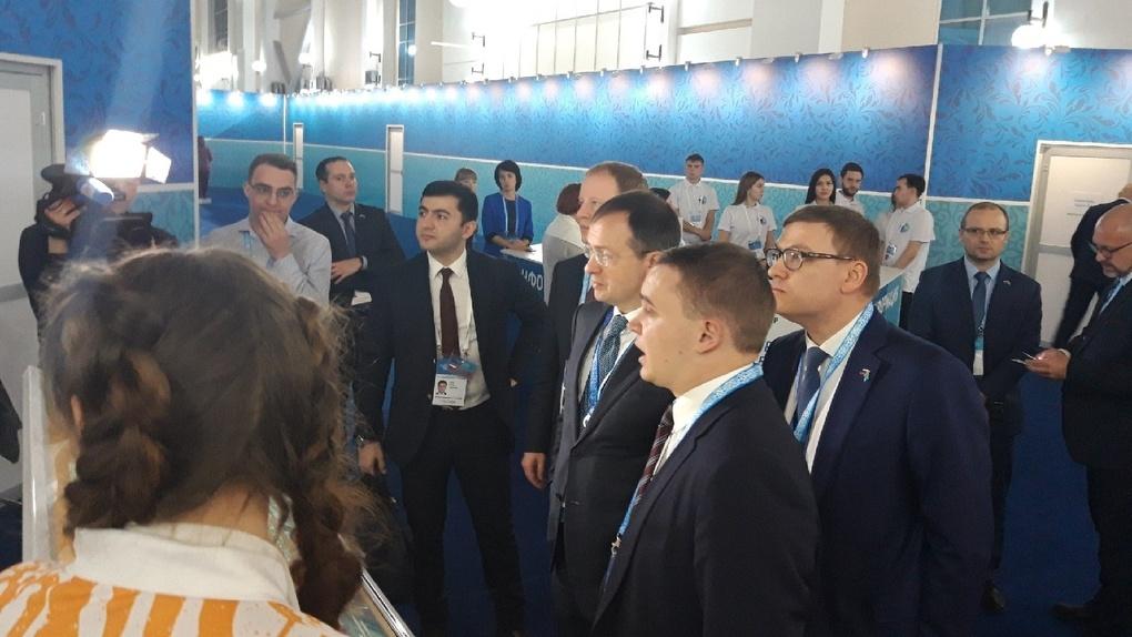 Вместо Путина в Омске высадился десант казахстанских министров