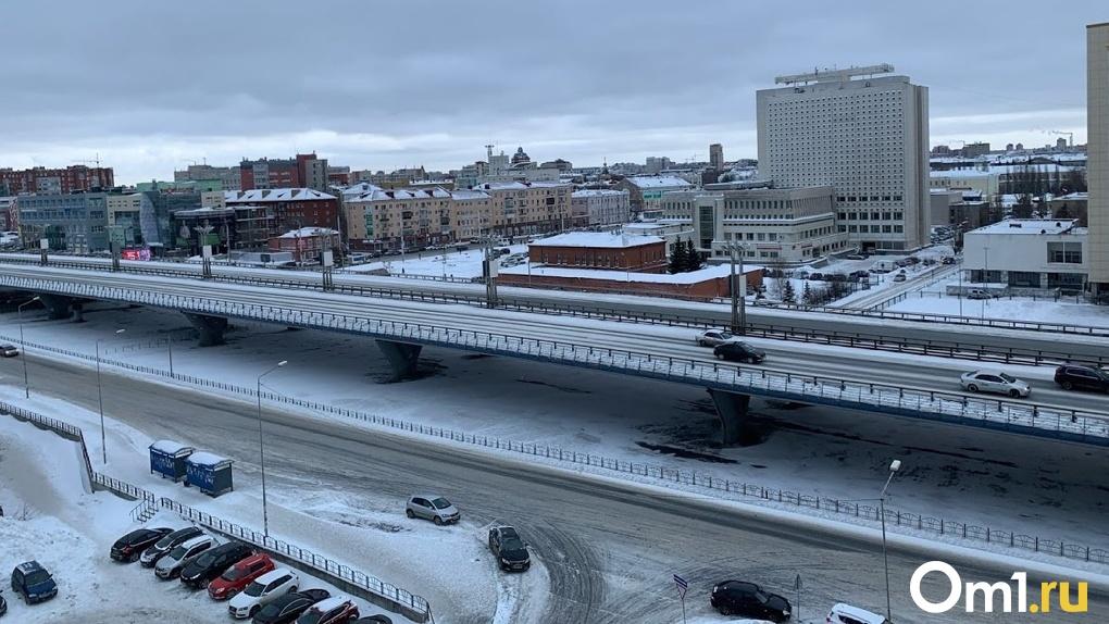 Омичка предложила выделить полосу для общественного транспорта на мостах