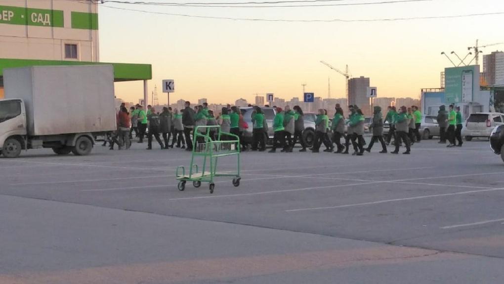 В Новосибирске «заминировали» гипермаркет «Леруа Мерлен»