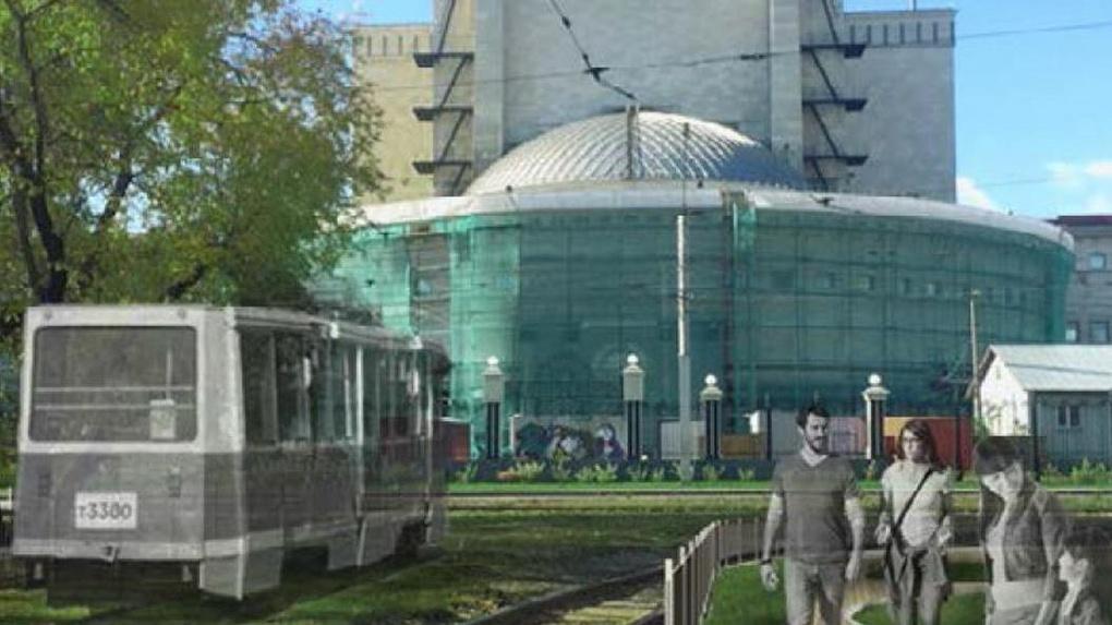 В Новосибирске появится сквер имени легендарного трамвая-убийцы