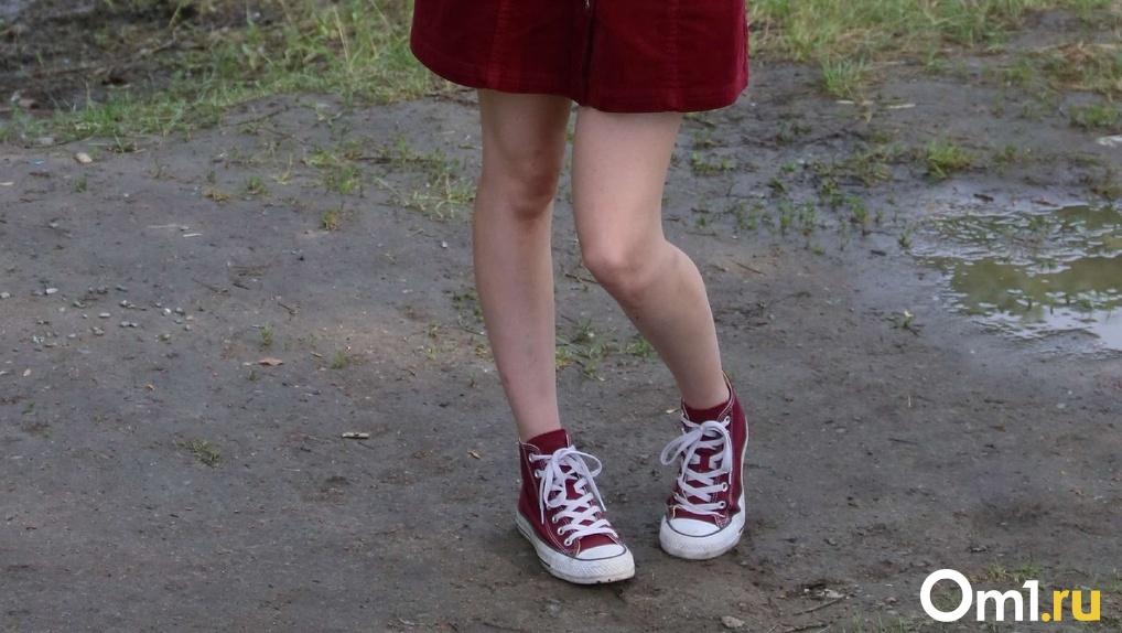 Неизвестный омич прямо на улице дважды занялся сексом с 13-летней девочкой