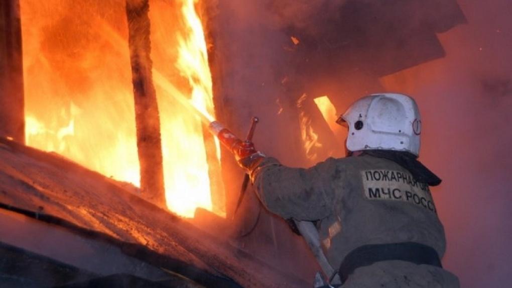 Страшный пожар в Новосибирской области: женщина и пятеро детей госпитализированы