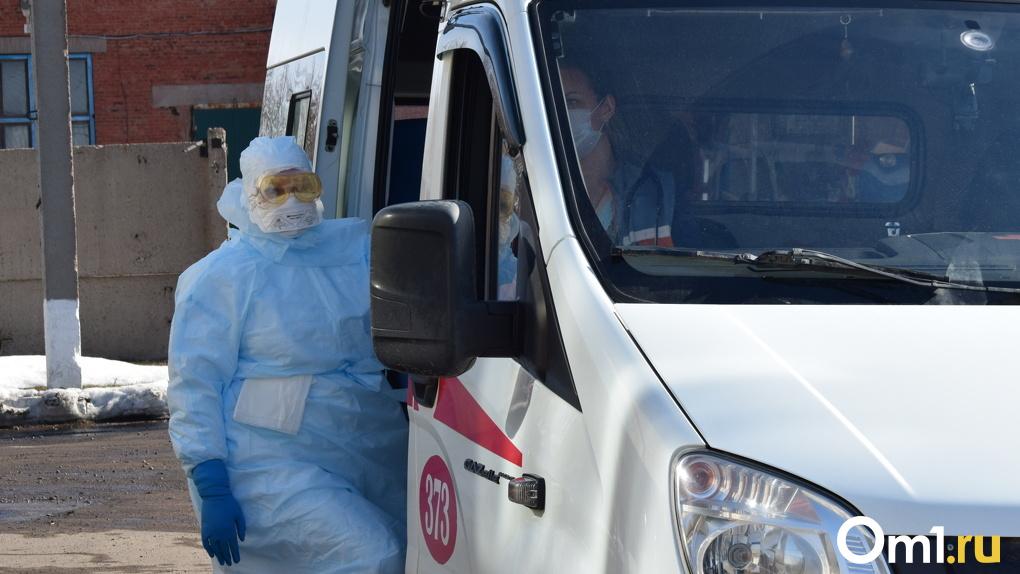 В Омской области появился новый район-лидер по суточному приросту заражённых COVID-19