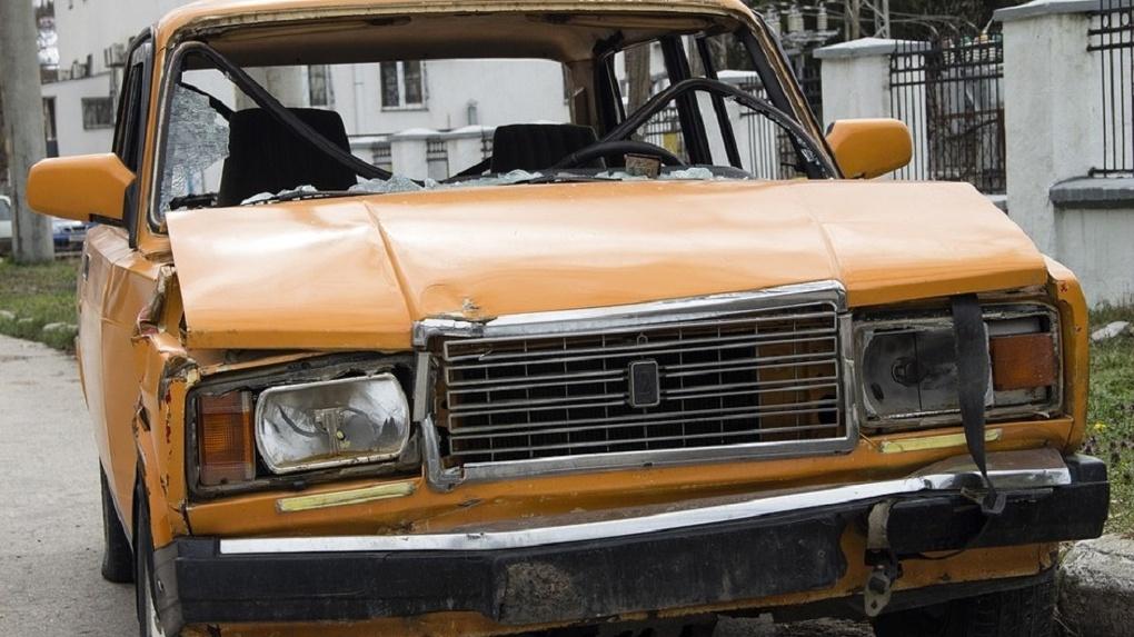 В Омской области насмерть сбили 42-летнего пешехода