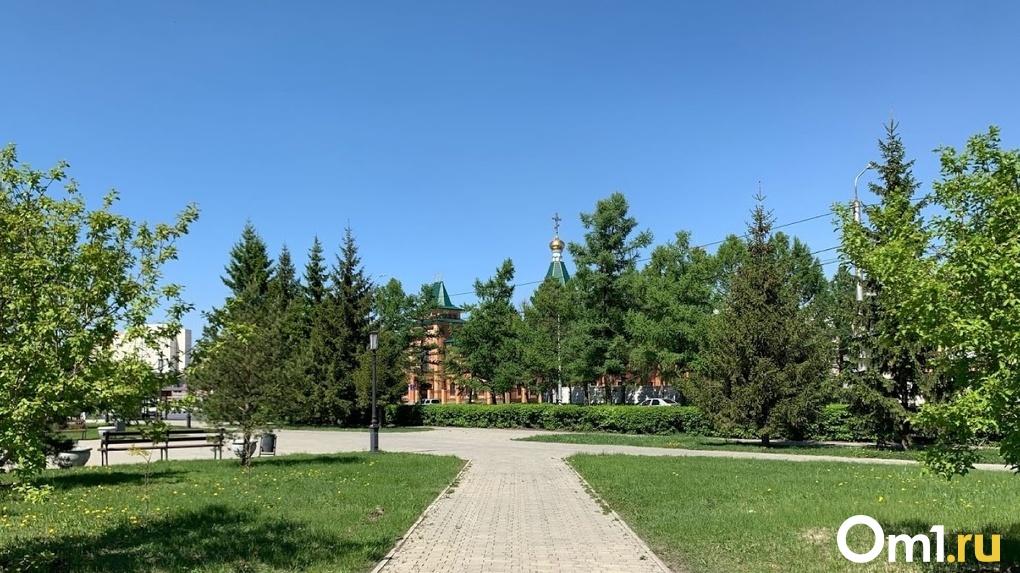 В Омске приступили к восстановлению исторического портика в здании Епархии