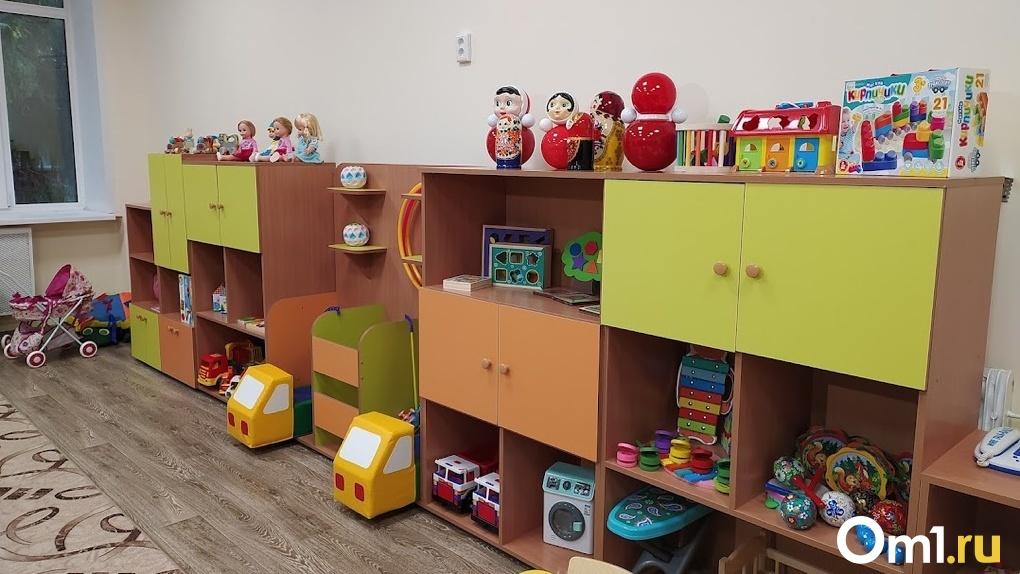 Омские чиновники рассказали, насколько готово здание детского сада в Ленинском округе