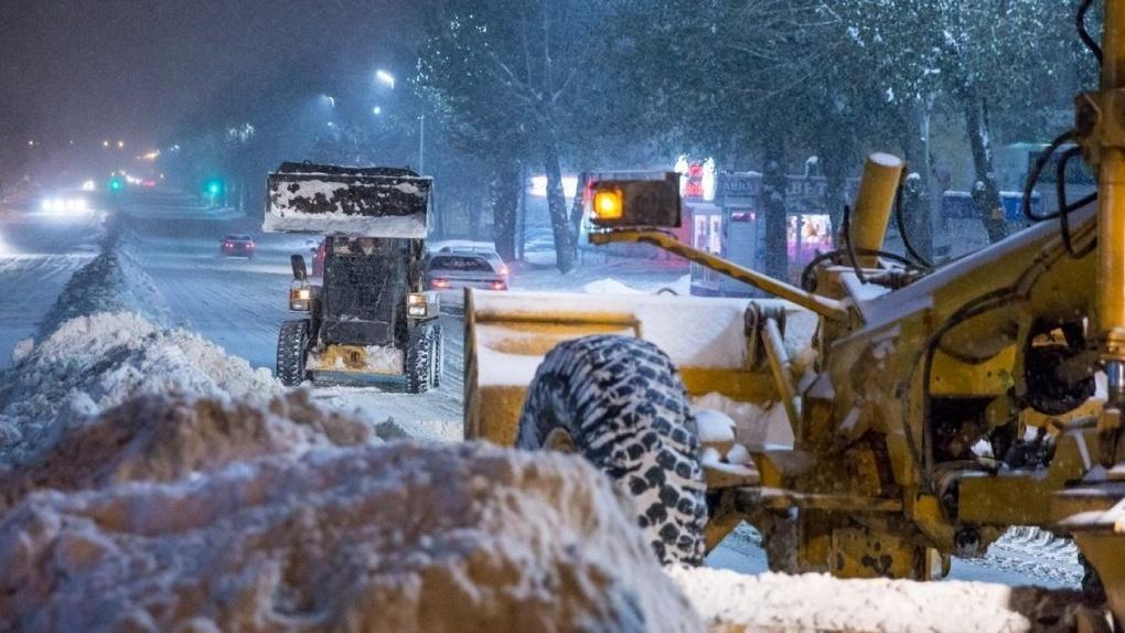 Снегопад обрушится на Новосибирск в канун Нового года