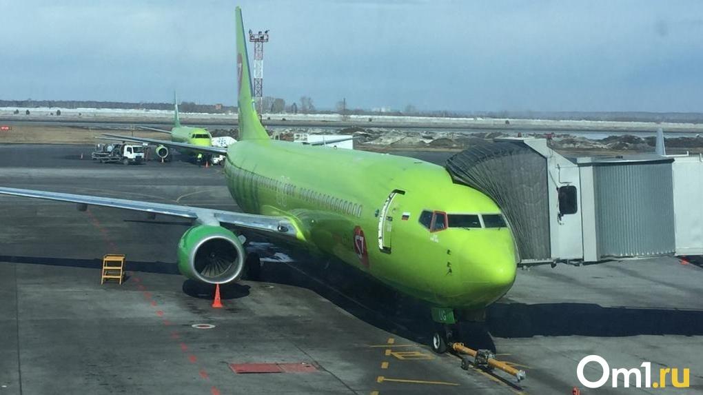 Из новосибирского аэропорта Толмачёво отправили первый возобновлённый авиарейс в Турцию