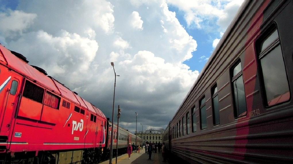От грозы на выходных пострадал омский железнодорожный вокзал