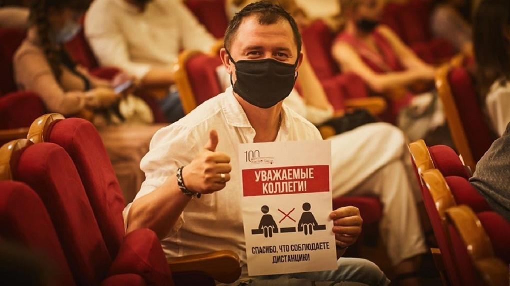 Новосибирский драмтеатр «Красный факел» закрыли на карантин из-за обострения ситуации с коронавирусом