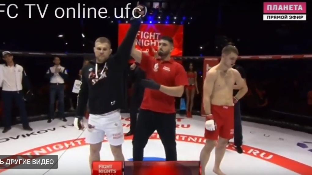 Воспитанник Шлеменко выиграл первый в Омске турнир FIGHT NIGHTS: видео