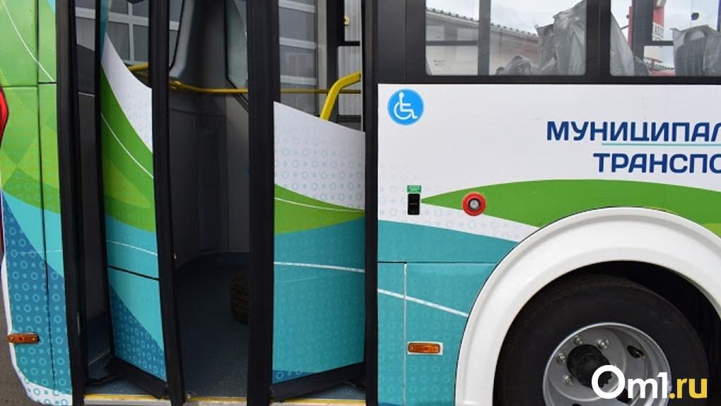 Сегодня в Омске остановятся не только маршрутки, но и автобусы