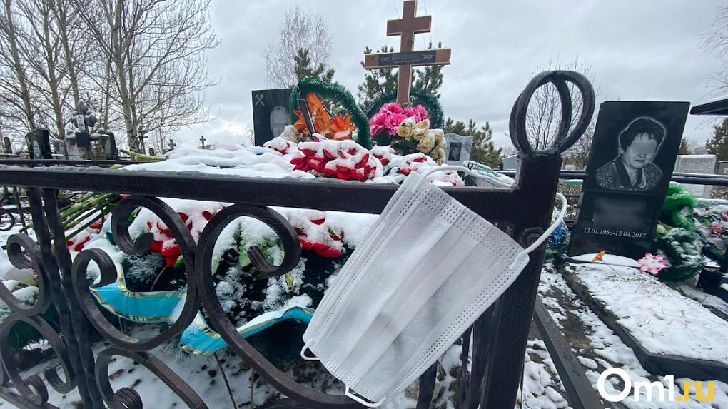 В Омской области за год смертность выросла в полтора раза