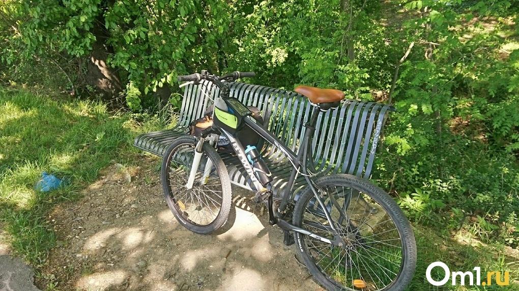 Омичи вновь обнаружили велодорожку с опасными препятствиями