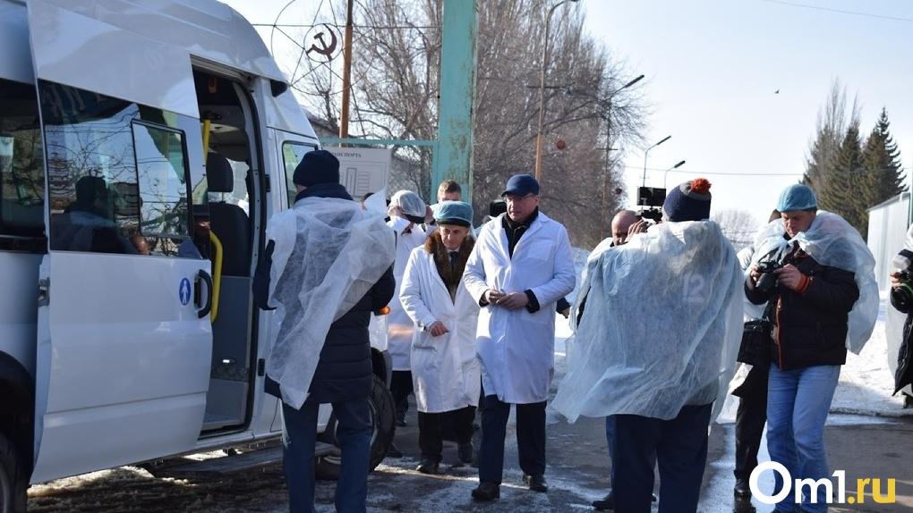«Мы должны поставить барьер» - Бурков о ситуации с коронавирусом в Омской области