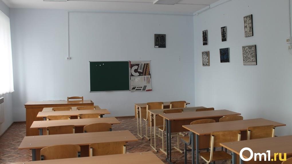 Омские школьники первого сентября придут в отремонтированные классы