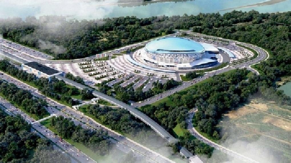 Названа дата открытия парка у нового ЛДС в Новосибирске