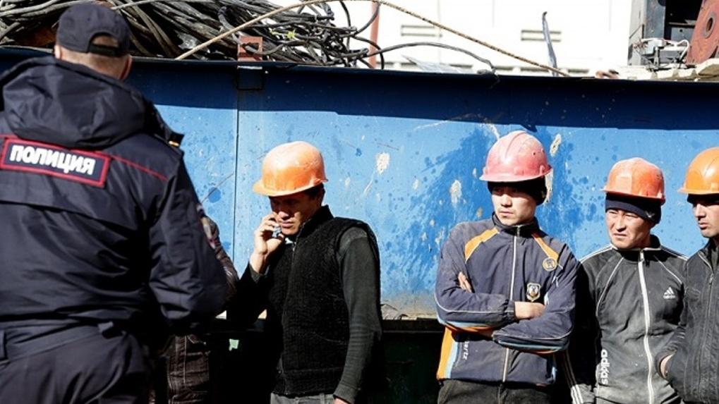 По завершении строительного сезона из Омска начали массово выдворять гастарбайтеров
