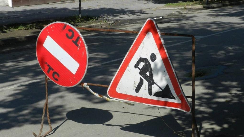 В Новосибирске часть Красного проспекта сузят на месяц