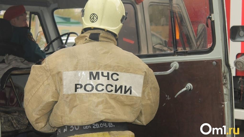 В Омске бездомный сгорел заживо