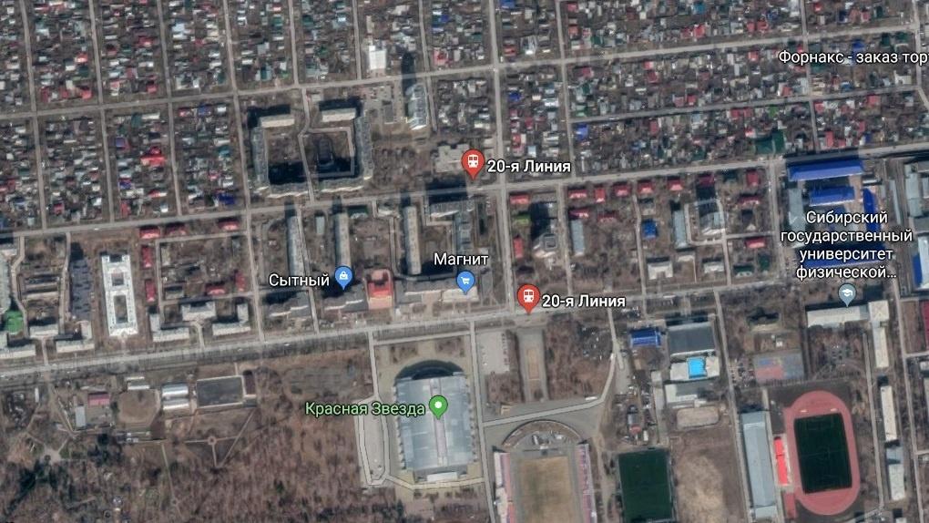 Из 4 остановок с названием «20-я Линия» в Омске останутся только 2