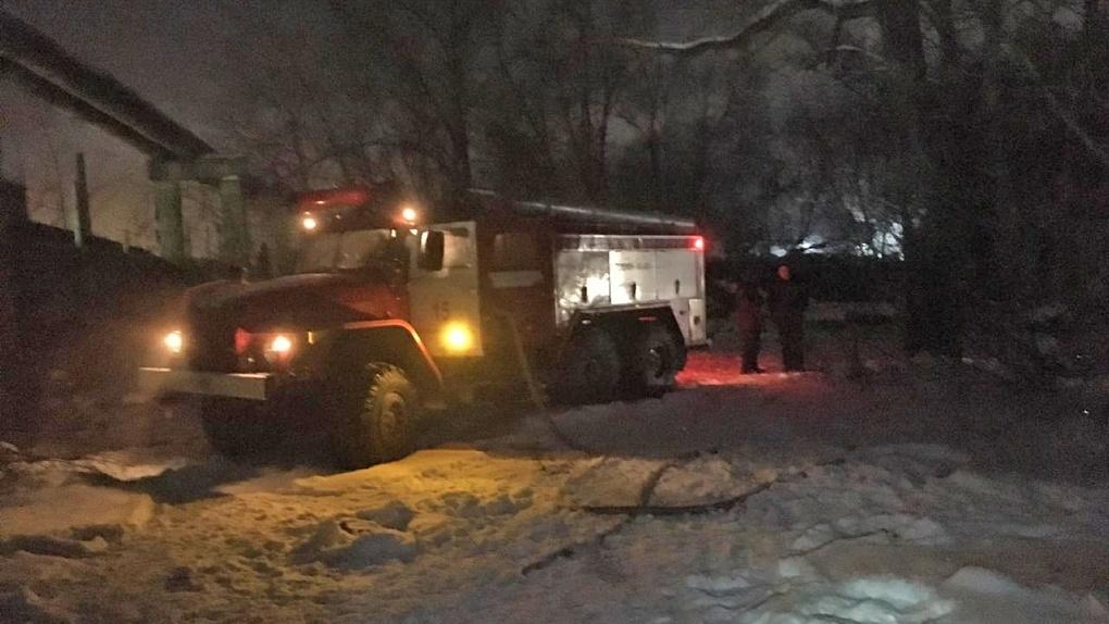 Пожар на территории новосибирского завода «Сибсельмаш»: два человека погибли