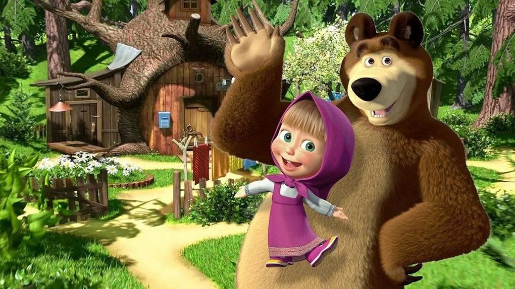В сети появились первые серии мультсериала «Маша и Медведь» от сценариста из Новосибирска