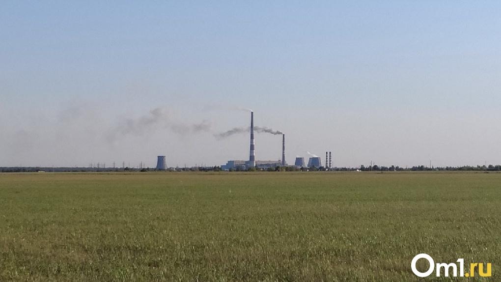 В воздухе Омска зафиксировано почти в два раза больше хлороводорода, чем разрешено