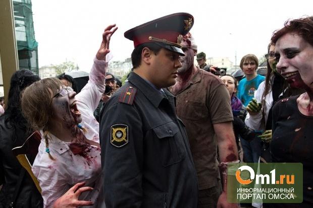 В Омске могут вновь состояться «Монстрация» или «Парад зомби»