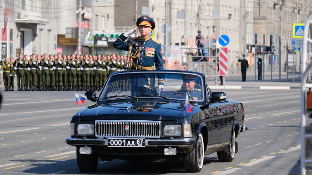 Более полумиллиона новосибирцев посмотрели прямую трансляцию Парада Победы на площади Ленина