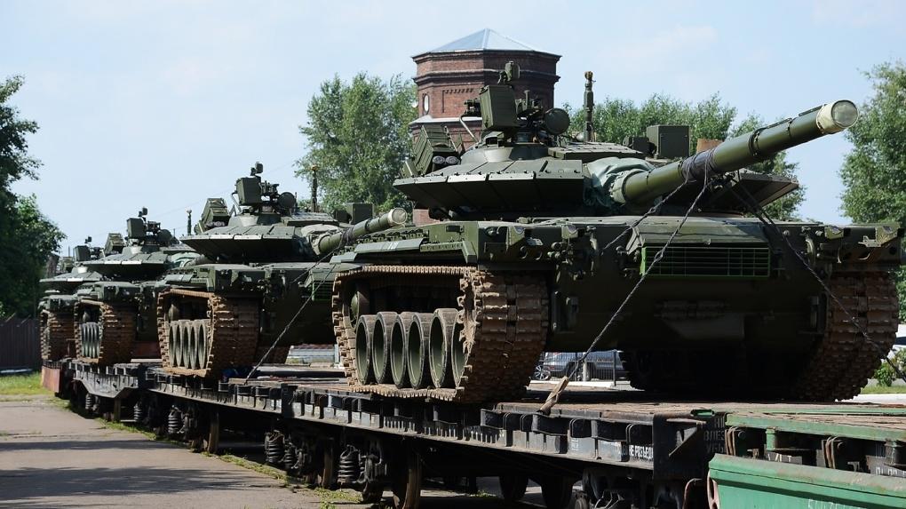Из Омска в войска России отправляют уникальные танки