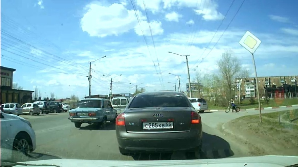 В Омске произошло очередное ДТП с участием ребенка