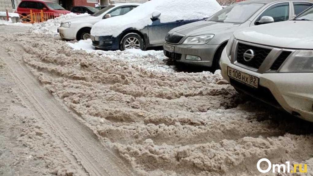 Рекордное количество снега вывезено с улиц Новосибирска в новогодние праздники