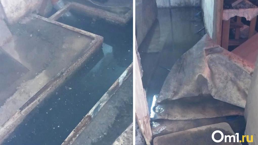 Задыхаемся от вони: жители пятиэтажки в новосибирском посёлке жалуются на порывы канализации