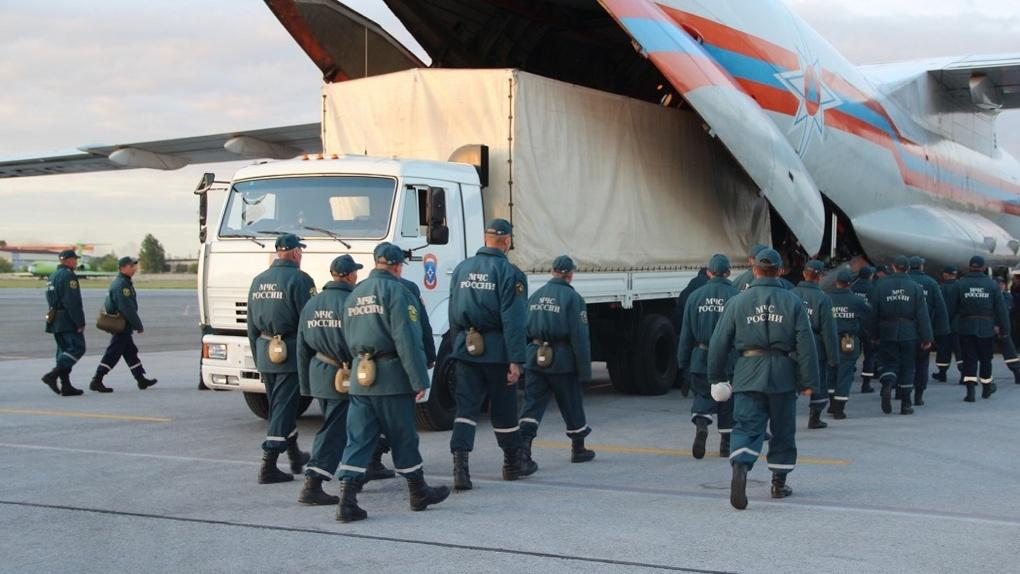 Ситуация SOS: новосибирские спасатели срочно выехали на ликвидацию нефтяного ЧС в Норильске