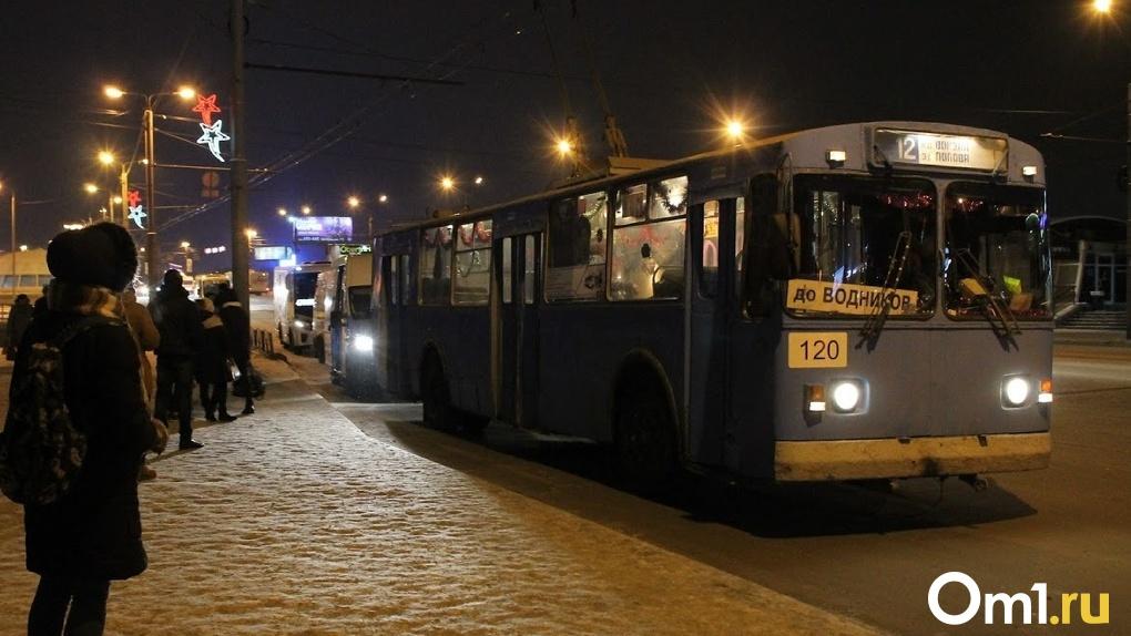 Меняйло предложил увеличить число общественного транспорта в Омске в час пик