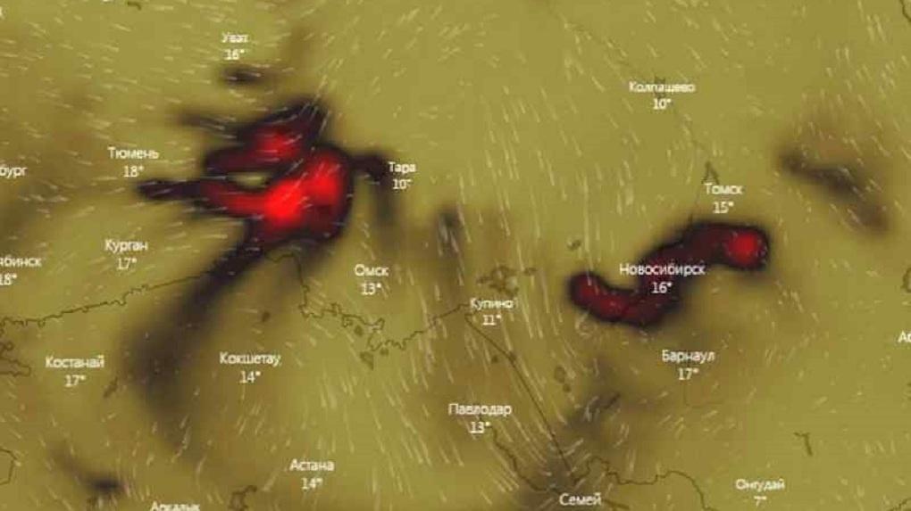 Опасно дышать: в Новосибирске зафиксировали максимальную концентрацию угарного газа в мире