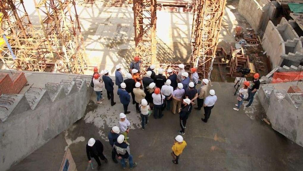 Когда достроят новую ледовую арену в Новосибирске? 5 фотографий возведения масштабного объекта