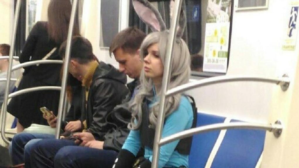 В Новосибирском метро замечена героиня «Зверополиса»