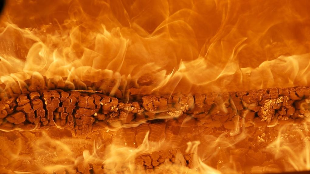 В Омской области начался «генетический» пожар