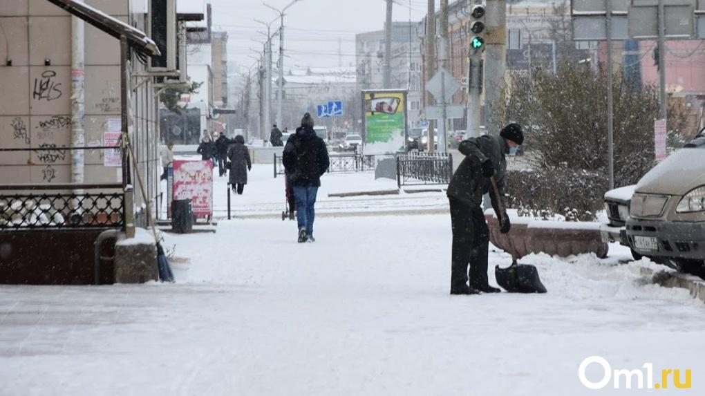 На ремонт тротуаров в Омске выделили 18 миллионов рублей