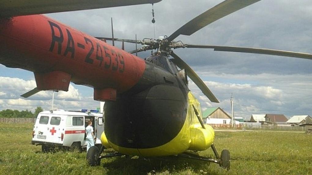 Омской санавиации удалось выгадать деньги на второй вертолёт