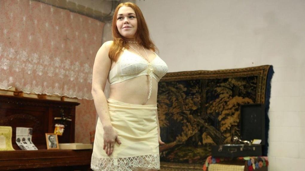 ретро белье женское фото ссср